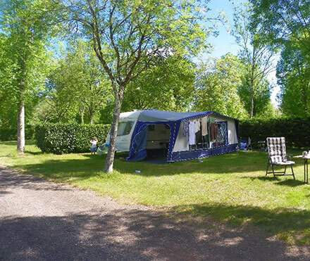Pitch rental for motorhome
